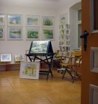 Kulturpunkt Galerie Innenansicht